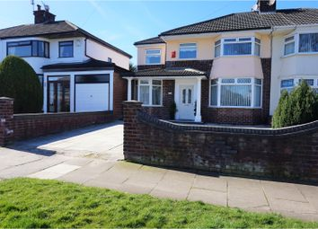 Thumbnail 4 bed semi-detached house for sale in Kingsway, Liverpool