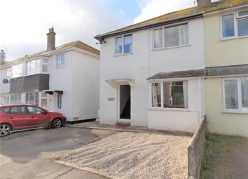 Thumbnail 3 bedroom semi-detached house for sale in Godolphin Road, Long Rock, Penzance
