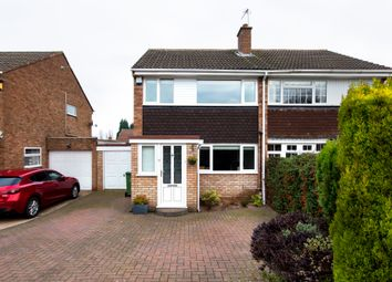 Thumbnail 3 bed semi-detached house for sale in Whitethorn Crescent, Streetly, Sutton Coldfield