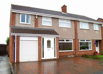 Thumbnail 4 bedroom semi-detached house for sale in Carlbury Avenue, Acklam, Middlesbrough