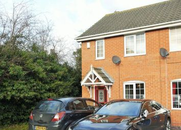 Thumbnail 2 bed end terrace house for sale in Rossington Drive, Littleover, Derby