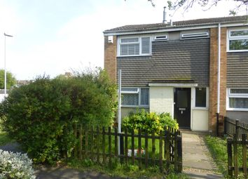 Thumbnail 3 bed end terrace house for sale in Fitzwarin Close, Luton