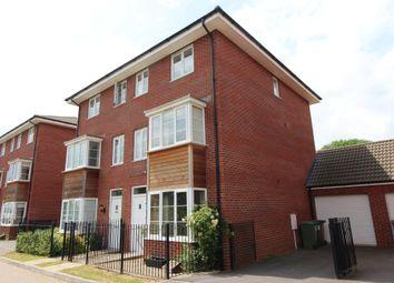 Thumbnail 4 bed semi-detached house for sale in Jack Sadler Way, Exeter