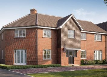 Thumbnail 1 bed flat for sale in Barn Road, Longwick, Buckinghamshire