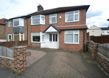Thumbnail 4 bed semi-detached house for sale in Oak Road, Sale
