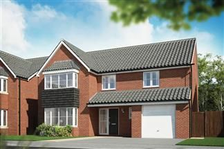Thumbnail 4 bed detached house for sale in The Wycliffe, St Lythans Rd, Cardiff