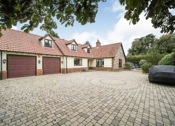 Thumbnail 4 bed detached house for sale in Croxton, Thetford