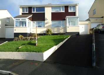 Thumbnail 3 bed semi-detached house to rent in Foster Drive, Bodmin