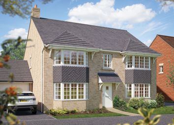 "Thumbnail 5 bed detached house for sale in ""The Ascot"" at Townsend Road, Shrivenham, Swindon"