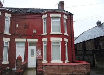 Thumbnail 3 bedroom end terrace house for sale in Buckingham Road, Tuebrook, Liverpool