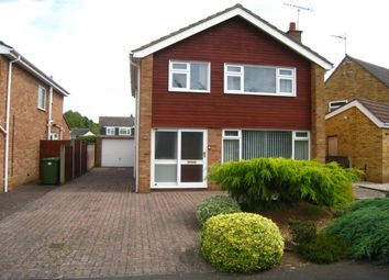 Thumbnail 3 bed detached house for sale in Meadow Road, Wolston, Coventry