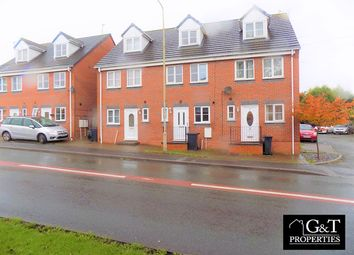 Thumbnail 3 bed town house to rent in Dudley, Dudley, West Midlands