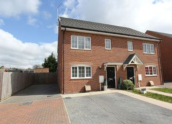 Thumbnail 3 bedroom semi-detached house for sale in 20, Frederick Drive, Peterborough, Cambridgeshire