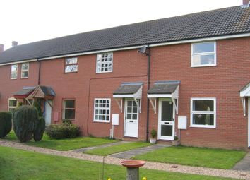 Thumbnail 2 bed terraced house to rent in Robinsons Close, Mellis, Diss