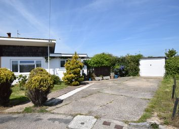 Thumbnail 2 bedroom bungalow for sale in Haven Close, Pevensey Bay