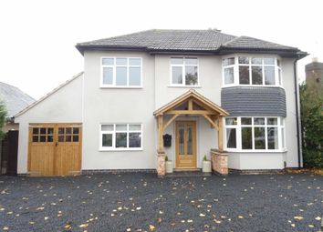 Thumbnail 4 bed detached house for sale in Denis Road, Burbage, Hinckley