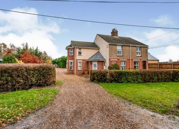 Thumbnail 3 bed semi-detached house for sale in Barcham Road, Soham, Ely