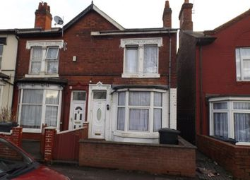 Thumbnail 3 bedroom end terrace house for sale in Washwood Heath Road, Ward End, Birmingham, West Midlands