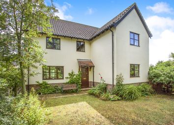 Thumbnail 4 bed detached house for sale in St Marys Close, Wilby, Eye