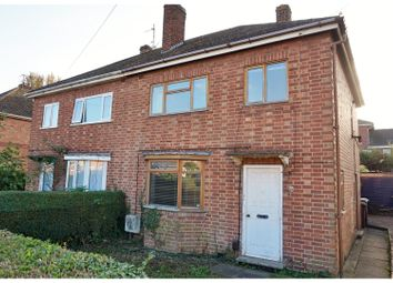 Thumbnail 3 bed semi-detached house for sale in Clarke Road, Corby