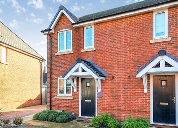 Thumbnail 2 bed end terrace house for sale in Whitfield Gardens, East Hanney, Wantage