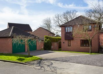 Thumbnail 4 bedroom detached house for sale in Wood Close, Strensall, York