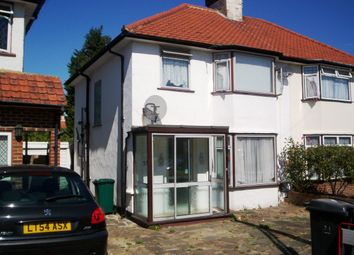 Thumbnail 4 bed semi-detached house to rent in Stanmore / Queensbury, Middlesex