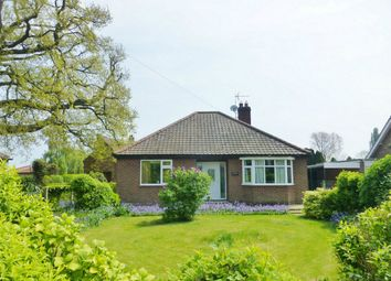Thumbnail 2 bed detached bungalow for sale in Church End, Cawood, York, North Yorkshire