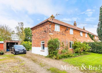 Thumbnail 3 bed semi-detached house for sale in School Road, Colkirk, Fakenham