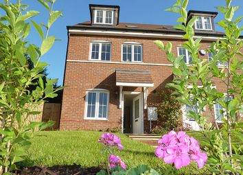Thumbnail 4 bedroom end terrace house for sale in Station Road, Watton-At-Stone, Hertford, Hertfordshire