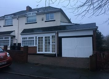 Thumbnail 3 bed semi-detached house to rent in Hagley View Road, Dudley