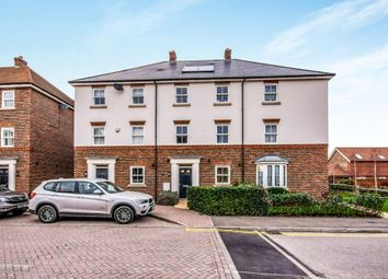 Thumbnail 5 bed town house for sale in Brookfield Drive, Horley