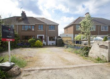 Thumbnail 4 bed semi-detached house for sale in Station Road, Bere Ferrers, Yelverton
