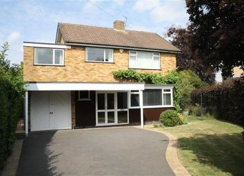Thumbnail 4 bed detached house for sale in Kelvon Close, Glenfield, Leicester