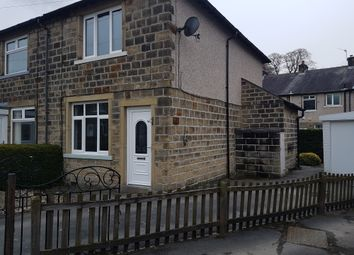 Thumbnail 2 bed semi-detached house for sale in Rosewood Avenue, Keighley, West Yorkshire