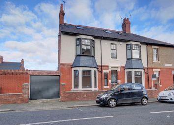 Thumbnail 4 bed terraced house for sale in Tavistock Road, Jesmond, Newcastle Upon Tyne