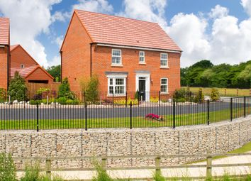 "Thumbnail 4 bed detached house for sale in ""Layton"" at Gibson Court, Gateford, Worksop"