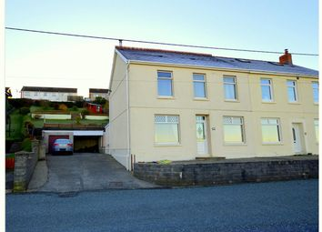Thumbnail 3 bed semi-detached house for sale in Tyisha Road, Tumble, Llanelli