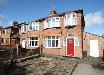 Thumbnail 3 bed semi-detached house for sale in South Bank Avenue, York, North Yorkshire