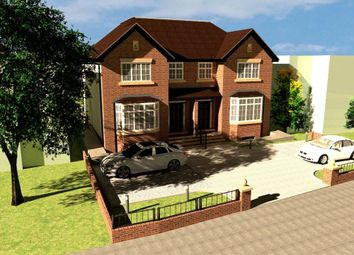 Thumbnail 4 bed semi-detached house for sale in Squires Bridge Road, Shepperton, Surrey