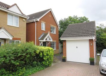 Thumbnail 3 bedroom detached house for sale in Redwing Rise, Royston