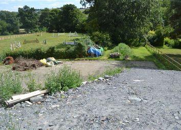 Thumbnail Land for sale in Llanllwchaiarn, Newtown