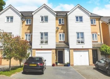 Thumbnail 4 bedroom town house for sale in Christian Close, Hoddesdon