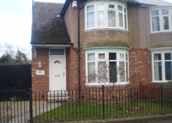 Thumbnail 2 bed semi-detached house to rent in Middleham Road, Darlington