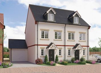 "Thumbnail 3 bed semi-detached house for sale in ""Milton"" at Anstey Road, Alton"