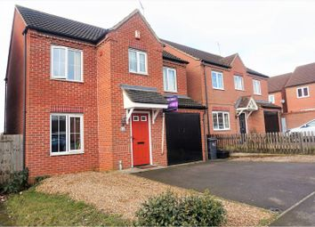 Thumbnail 4 bed detached house for sale in Auckland Close, Northampton