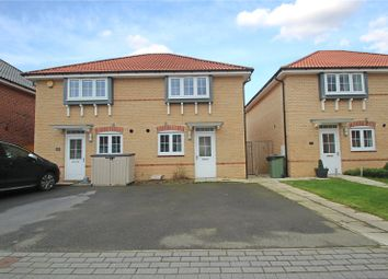 Thumbnail 3 bed semi-detached house for sale in Pearl Court, Upton, Pontefract, West Yorkshire