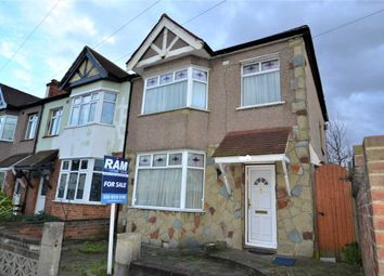 Thumbnail 3 bedroom end terrace house for sale in Cavenham Gardens, Ilford
