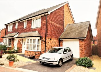 Thumbnail 3 bed semi-detached house for sale in Blackthorn Avenue, Billingshurst