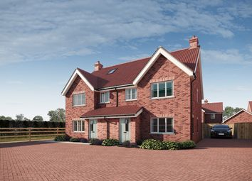 Thumbnail 4 bed semi-detached house for sale in Maple Gardens, Stotfold